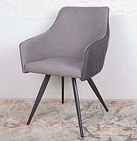 Обеденный стул с подлокотниками MAYA цвет серый, Nicolas