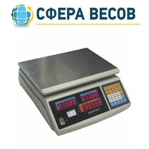 Весы торговые Днепровес F902H-15ED1 (15 кг)