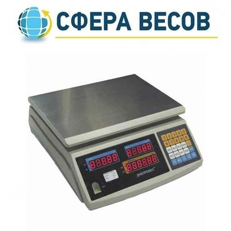 Весы торговые Днепровес F902H-15ED1 (15 кг), фото 2