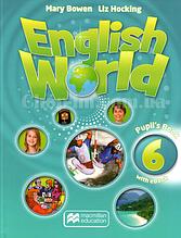 English World 6 Pupil's Book with eBook (учебник с онлайн кодом и диском, уровень 6-й)