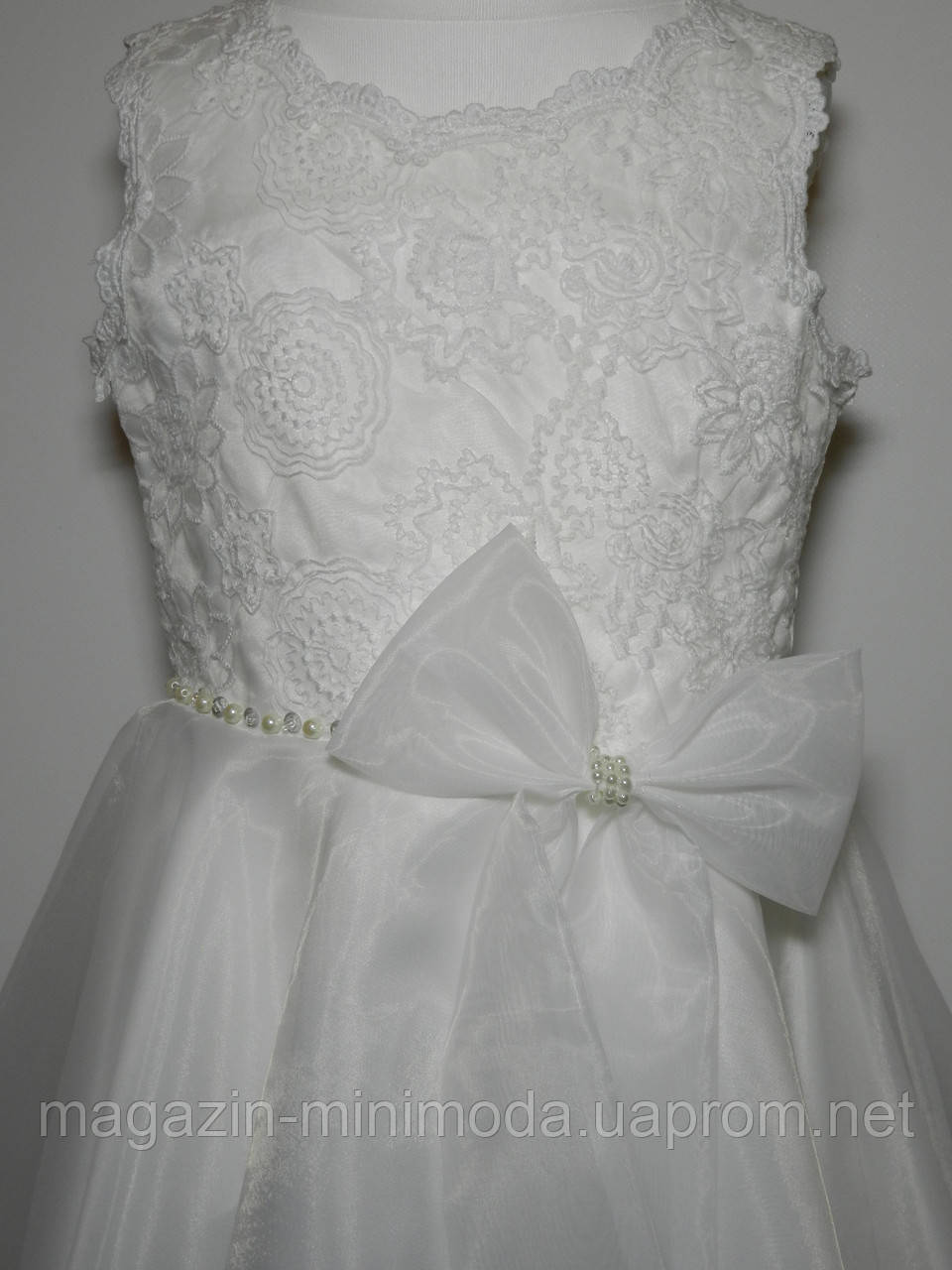 bdd7858b9b5 ... Белое детское платье