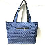 Женские стеганные сумки дешево опт (черный)30*46, фото 3