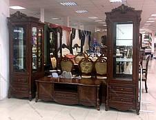 Витрина (сервант) 1 дв. в классическом стиле, гостиная Маркиза, Top, фото 2