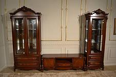 Витрина (сервант) в классическом стиле 2 дв., гостиная Маркиза, Top, фото 3