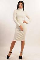 Женское платье теплое осень-зима.