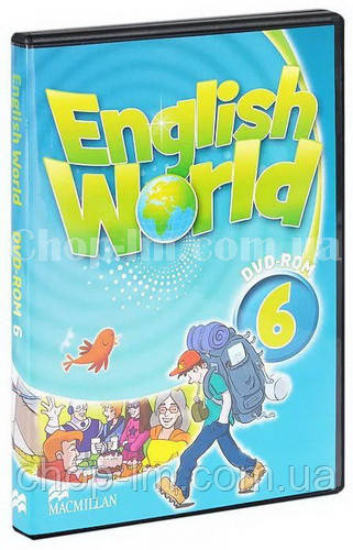 English World 6 DVD-ROM (видео-диск к курсу)