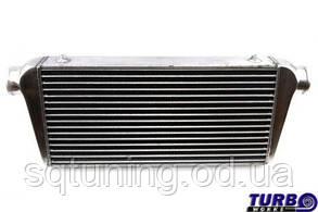 """Интеркулер фронтальный универсальный TurboWorks 600x300x76 3"""" (76 мм)"""