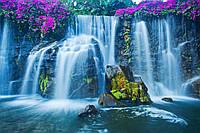 """Фотообои бумажные """"Красивый водопад"""""""