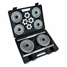 Домашний гантельный набор FitLogic Home Dumbbell Hammer Set Box 20kg, фото 3
