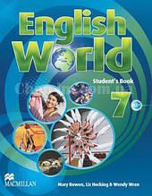 English World 7 Student's Book (учебник/підручник, уровень 7-й)