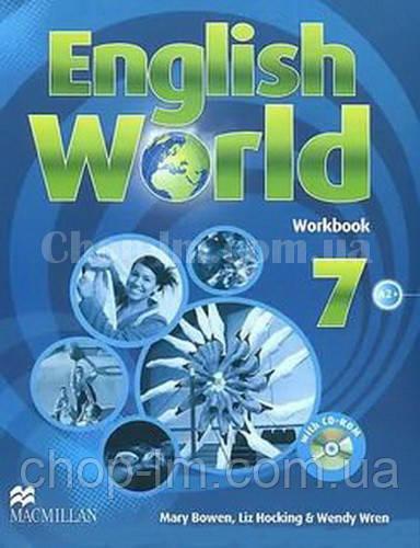 English World 7 Workbook with CD (рабочая тетрадь/зошит, уровень 7-й)