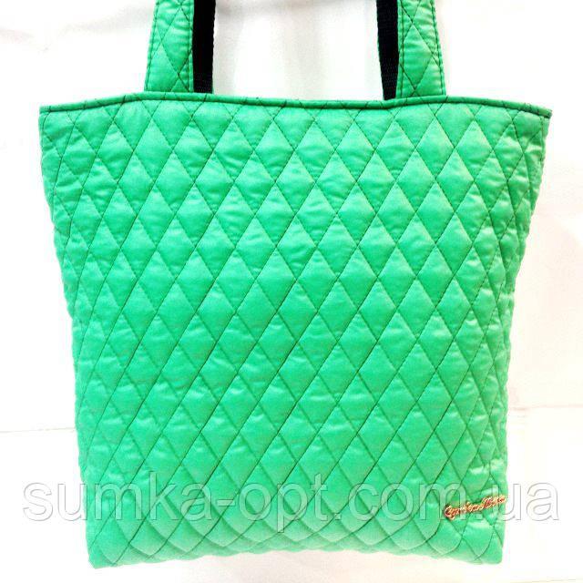 Женские стеганные сумки дешево опт (зеленый)29*32