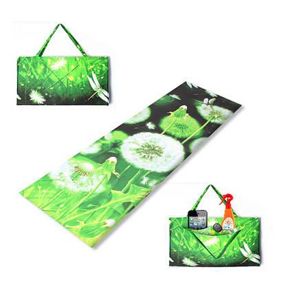 """Килимок-сумка """"RELAX"""" на липучці, кульбаба, 1024-dan, фото 2"""