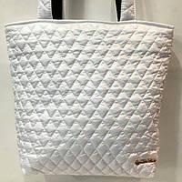 Женские стеганные сумки дешево опт (белый)29*32, фото 1