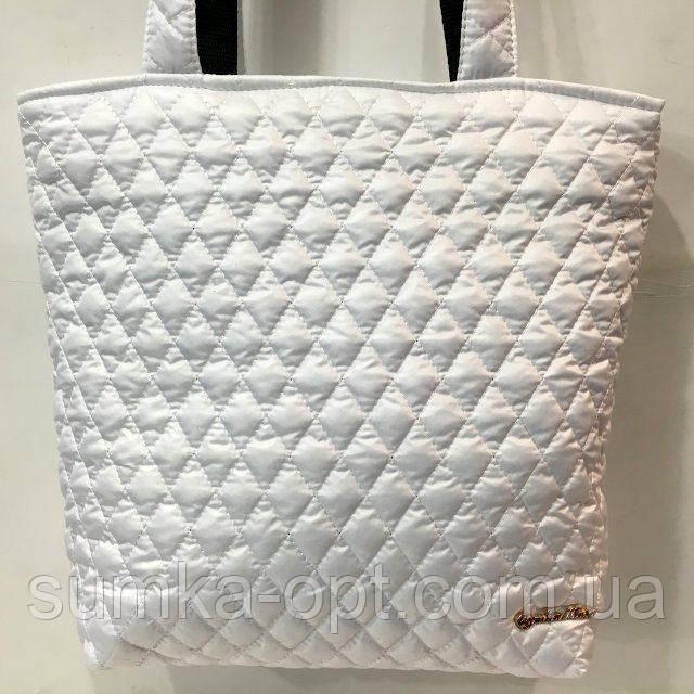 Женские стеганные сумки дешево опт (белый)29*32