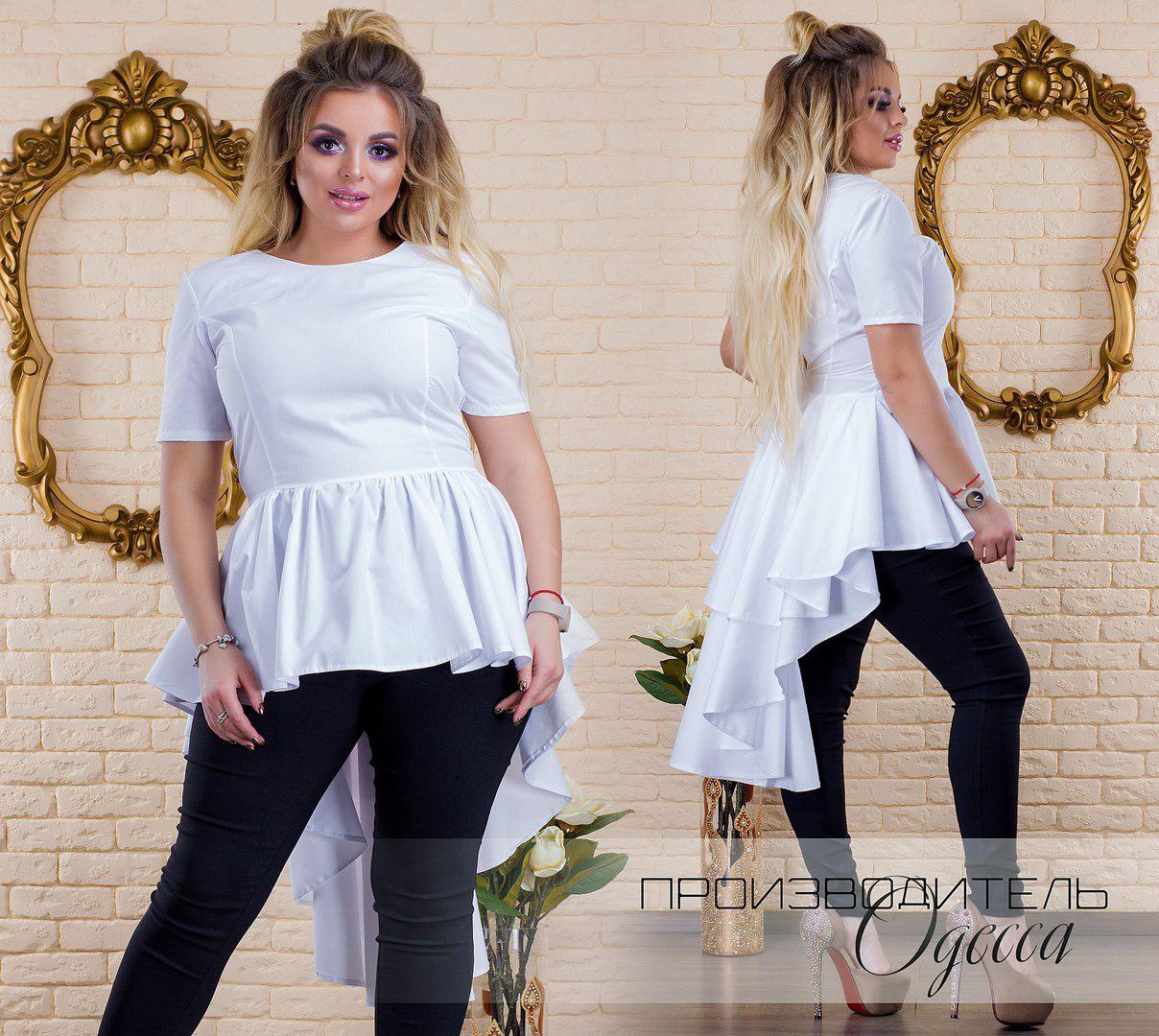 Блуза женская в расцветках 33047  Интернет-магазин модной женской ... c29626dedc8