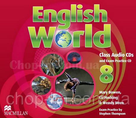 English World 8 Audio CDs (аудио диски)