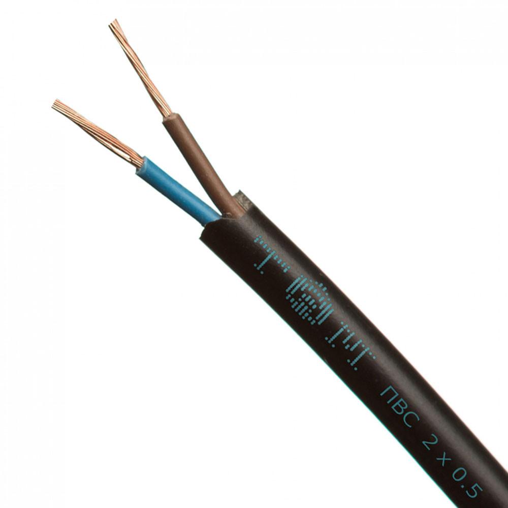 Провод ПВС 2*1,5+1*1,5 черный (Интер Электро)