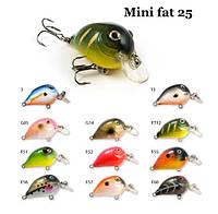 Воблер Raiden Mini Fat 25 2.9 гр. F51