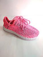 Детские кроссовки сеточка 33