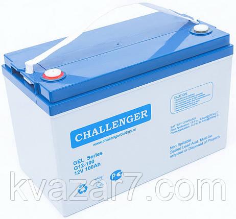 Акумуляторна батарея CHALLENGER G12-100, фото 2