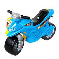 Мотоцикл Орион 501 2-х колесный, желто-голубой