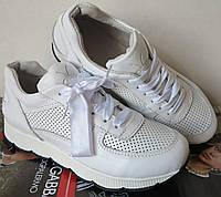 Mante кожаные женские кроссовки белые кожа замша перфорация кеды в стиле Dior