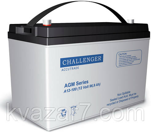 Аккумуляторная батарея CHALLENGER A12-100, фото 2