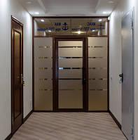 Алюминиевые теплые двери, фото 1