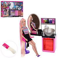 Игровой набор салон красоты с куклой