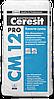 Ceresit СМ 12 Pro (Церезит СМ 12 ПРО), мешок 27кг. Эластичная клеящая смесь для плитки и керамогранита