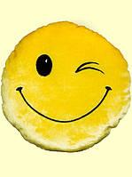 Мягкая подушка-смайл Подмигивающий Смайлик