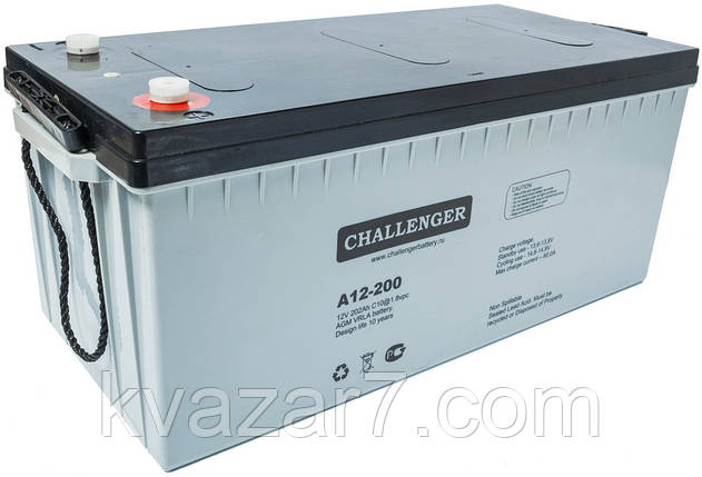 Акумуляторна батарея CHALLENGER A12-150, фото 2