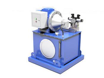 Маслостанция для подъемника с возможностью регулировки давления, подачи и фиксирования нагрузки