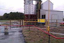 Газоснабжение зерносушилки