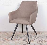 Обеденный стул с подлокотниками MAYA цвет мокко, Nicolas