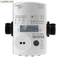 Теплосчетчик ULTRAHEAT T230-B05 DN 15 (0,6 м³ /ч, резьба) ультразвуковой композитный Landis+Gyr
