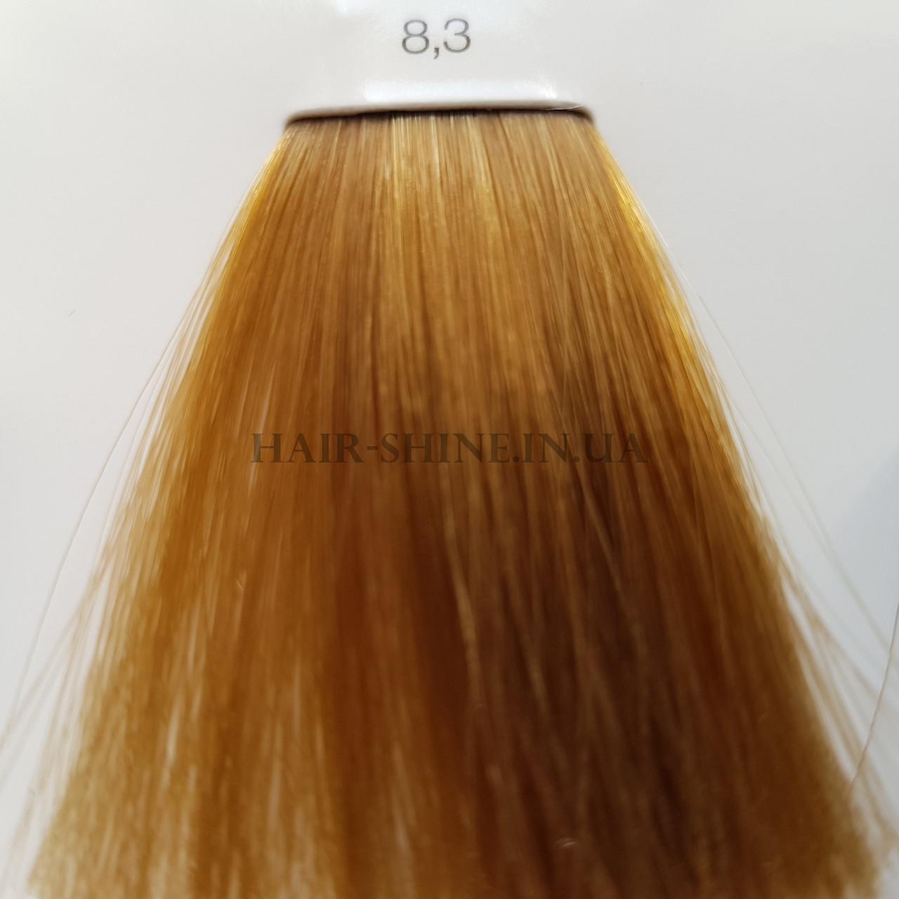 Краска без аммиака 60 мл  L'Oreal Professionnel Inoa 8.3 светлый блондин золотис