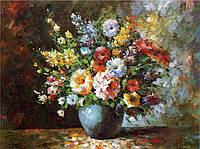 Печать холсте 300x400 мм Цветы (репродукция картин)