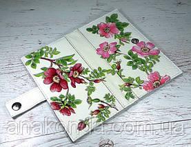 301 Натуральная кожа, Комплект: сумка кросс-боди+кошелек, белый, комбинированный, фото 2