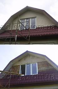 Сайдинг вініловий для будинку, сайдинг софіти для підшивки даху купитиу Львові Бриза Bryza