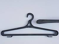 Плечики пластмассовые Гем-3 черные, 41 см