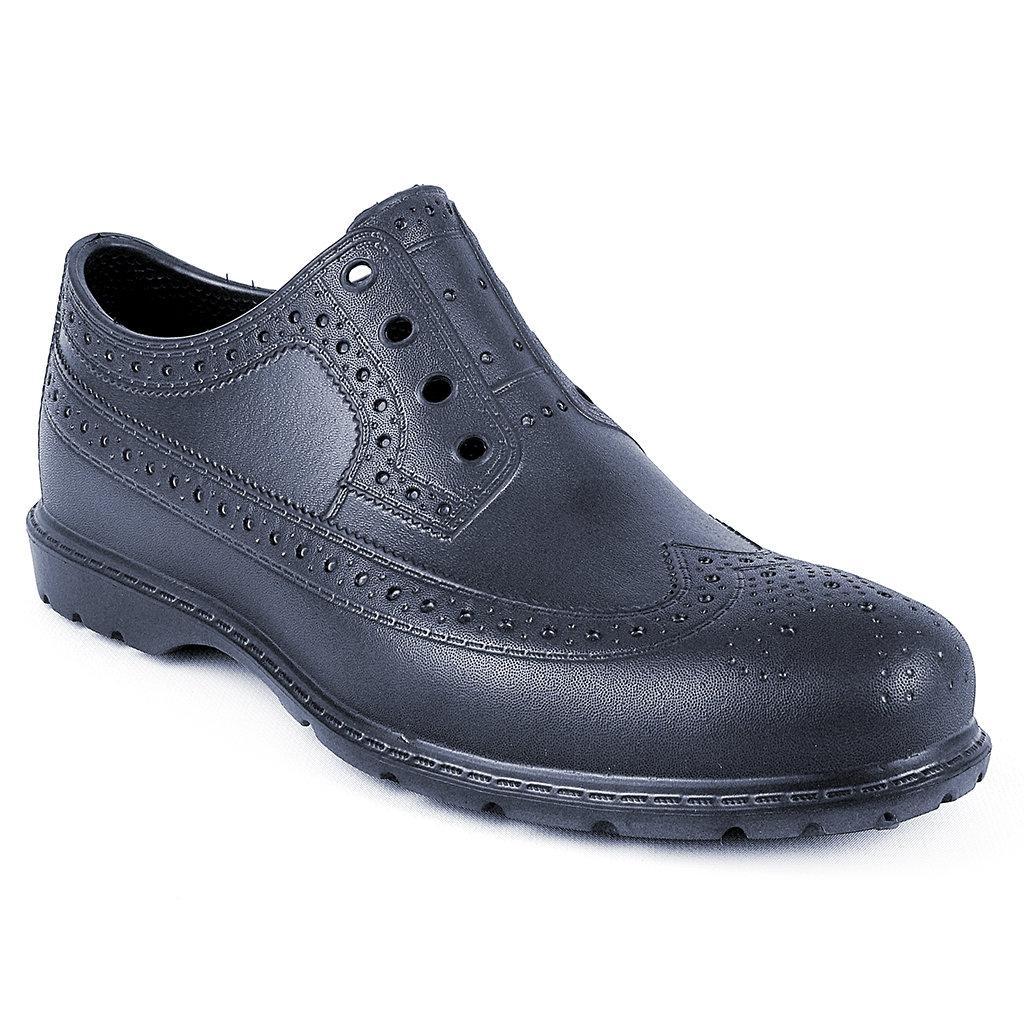 Темно-синие непромокаемые туфли-Оксфорды из пены ЭВА мужские, р. 40, 41, 42, 43 (маломерные)