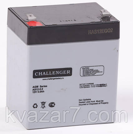 Акумуляторна батарея CHALLENGER AS12-5.0, фото 2