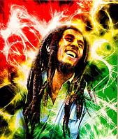 Картина Боб Марли со светодиодами