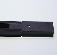 Шинопровод для трековых светильников Ledmax 1.5м черный 1-PHS-1.5MBВ , фото 1