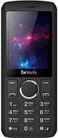 Телефон BRAVIS C242 Slim Dual Sim (black)