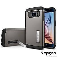 Чехол Spigen для Samsung S6 Slim Armor, Gunmetal