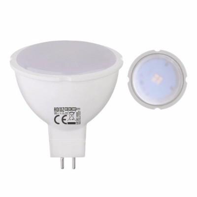 Светодиодная LED лампа Horoz Electric, 4W, 4200K, 220V, MR16, Fonix-4