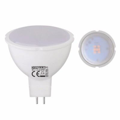 Светодиодная LED лампа Horoz Electric, 6W, 3000K, 220V, MR16, Fonix-6